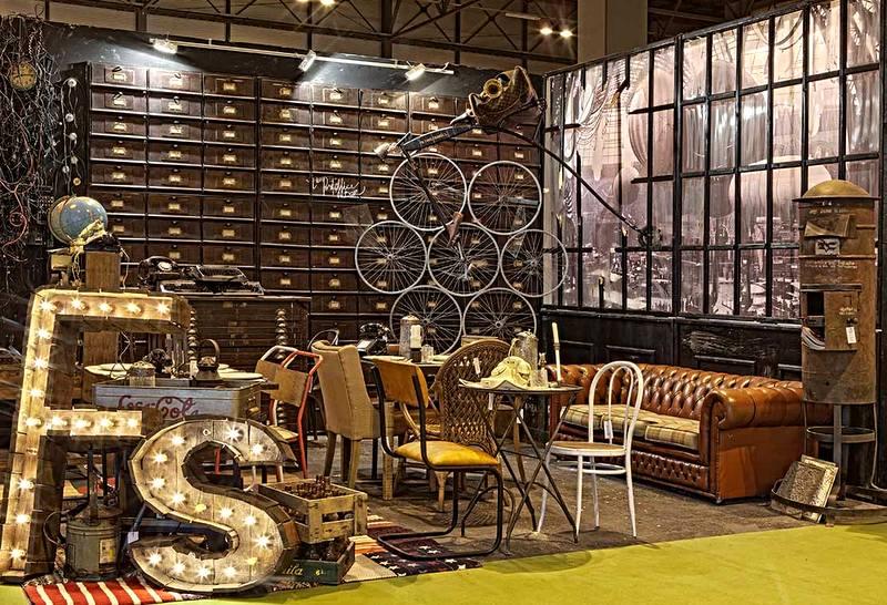 Feria antique new dec le cool madrid for Feria decoracion madrid