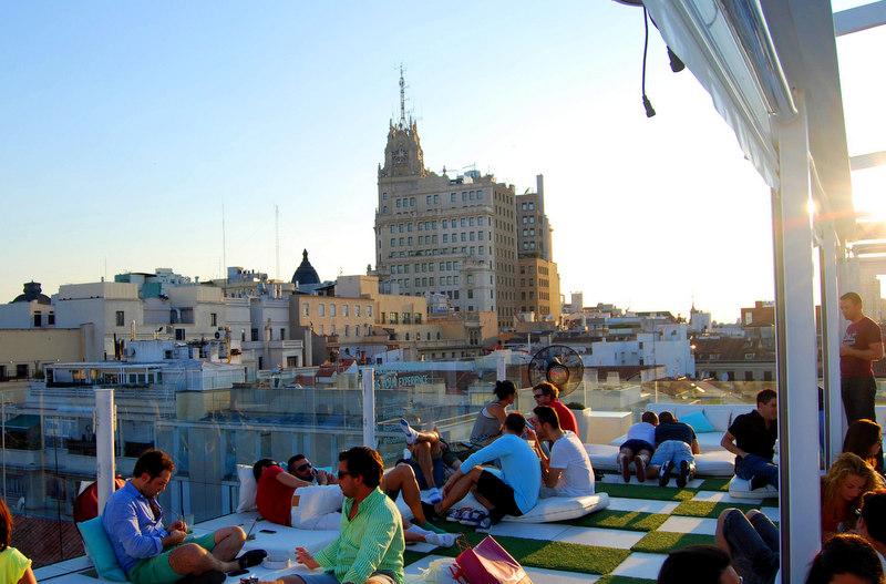 Madrid-terrazas-vistas-panorámicas-hotel-Room-Mate-Oscar