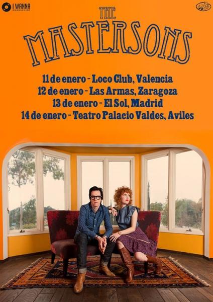 The-Mastersons-anuncian-gira-española-para-enero-2017