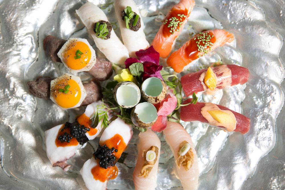 2-Selección de sushi