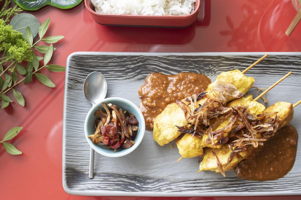 Satay de pollo con salsa de cacahuete 3 (1)