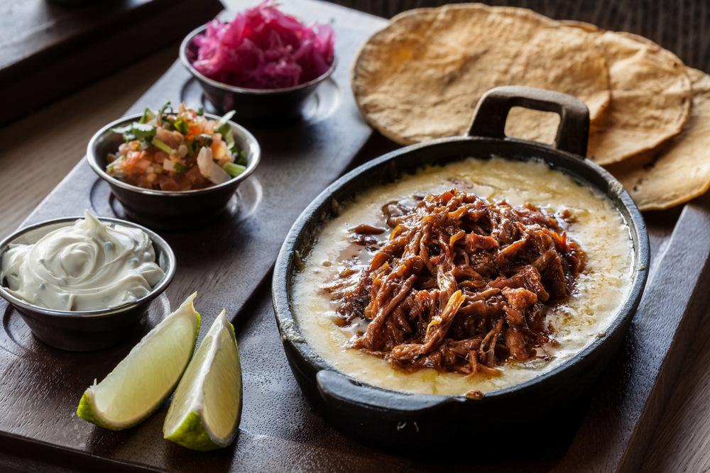 1-Tacos de pulled pork, NYB