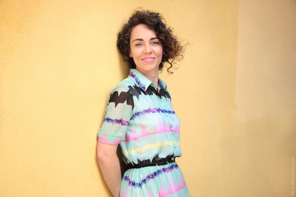 Lina Avila. Artista. Foto: Berta Delgado. YanMag
