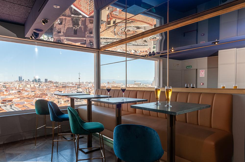 Ella Sky Bar Madrid - restaurante 4