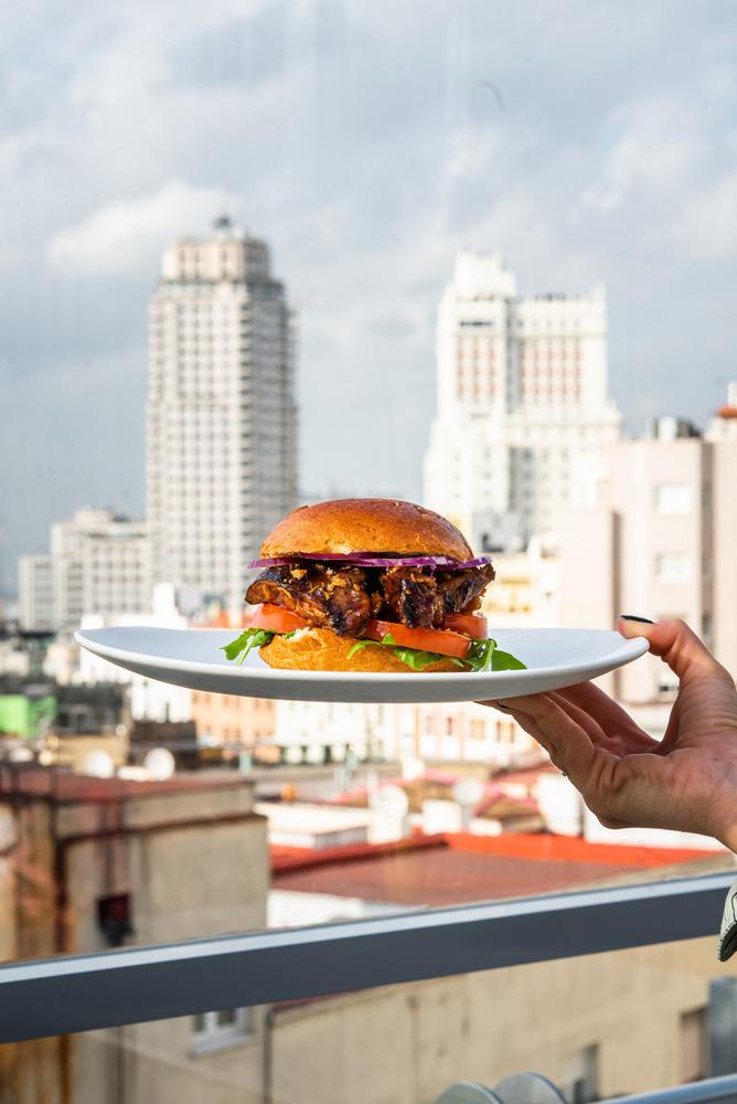2-Hamburguesa de costillar a baja temperatura - La Terraza del Santo Domingo