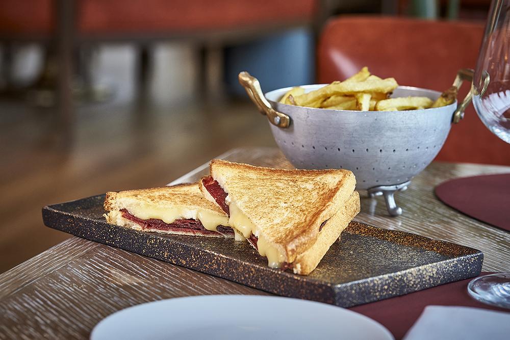 Dani Brasserie. Snacks. Iberian Pork Sandwich