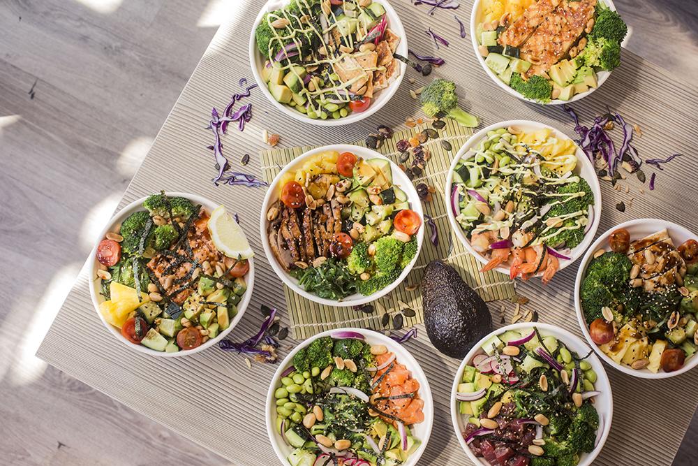 SUMO Restaurante Pokebowl variados 2