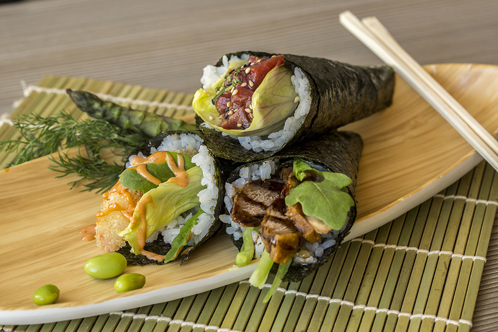 SUMO Restaurante Trio de Temakis